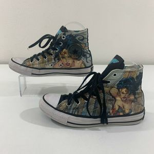 Converse All Star DC Comics Wonder Woman Shoes
